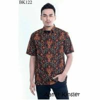 Kemeja Batik Pria Eksklusif/Batik Modern Paling Laris BK 122