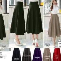 Jual Mid Length Flare Skirt Murah