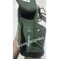 Harga sepatu converse one all star hi chuck taylor full army 100   Pembandingharga.com