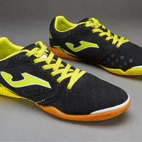 sepatu futsal joma superflex black yellow original 100% new 2016