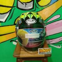 Helm Tsr Ram4 Scott Russell black Replika Arai Ram4