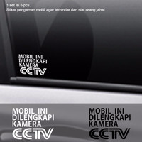 Harga Sticker Pengaman Mobil Dilengkapi Cctv Stiker Cutting Safety | WIKIPRICE INDONESIA
