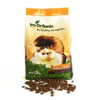 Makanan Kucing Cat food im organic indonesian best ibest 1,8 1.8 kg