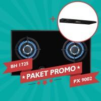 Paket Promo Modena Kompor Gas BH 1725 + Modena Cooker Hood PX 9002