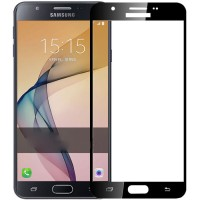 Tempered Glass Samsung Galaxy  J7prime ON 7 full sreen protector warna