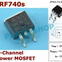 IRF740s IRF740sPBF TO-220 400V 10A N-Channel Power MOSFET IRF740