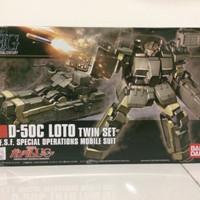 HG 1/144 Gundam D-50C loto twin set