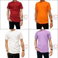 Best Quality Naga Clothing Baju Kaos Polos Biru Benhur 1000% Cotton