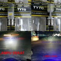 harga Lampu Utama Motor Led Philips M5 Kaki 1 Bergaransi Tokopedia.com