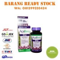 Jual Natrol AcaiBerry Diet Acai and Green Tea Super Foods - 60 Fast Kapsul Murah