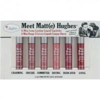 the Balm Meet Matte Hughes Set of 6 Mini Long-Lasting Liquid Lipstick