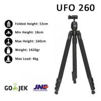 Excell UFO 260 - Ball Head Tripod for Canon-Nikon-Sony-Fujifilm
