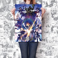 Poster Anime Fate Grand Order Beli 2 Gratis 1 Size A2+