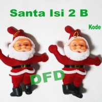 Aksesoris Natal / Ornamen Natal / Santa Isi 2 B / Sinterklas