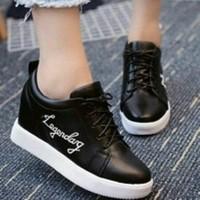 Harga sepatu boot wanita trendy hitam   WIKIPRICE INDONESIA