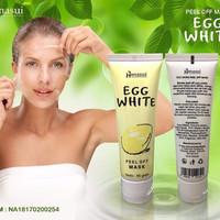 egg white masker telur pengencang pemutih penghilang jerawat wajah