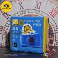 [NEW] NIKON COOLPIX W100 - BLUE - @Gudang Kamera Malang