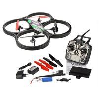 Drone WL V666 Headless Mode 5.8G FPV Live Camera LCD Screen Terbaru
