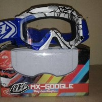 Kacamata Cross MX-Goggle TLD Motif Batik - Helm Cross KYT GM INK JPX