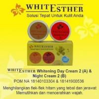 Paket Esther Whitening Cream BPOM/ Krim Siang Malam Wajah Ester A/B