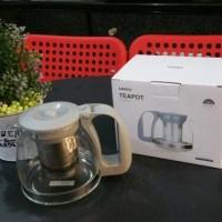 Harga teko teh server kopi teapot 900ml jepang berkualitas | antitipu.com