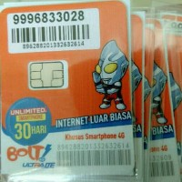 Jual Perdana internet bolt unlimited 30 hari Murah