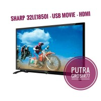 TV LED SHARP 32 INCH LC-32LE185I USB MOVIE 32LE185
