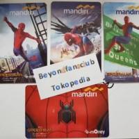 Jual e-Money Etoll card Mandiri Special Edition Spiderman emoney e-toll Murah
