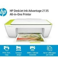PRINTER HP DESKJET 2135 INK ADVANTAGE - NEW ORIGINAL