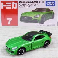 Tomica Reguler 7 Mercedes AMG GT R Green
