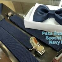 paket special colour/Suspender/bretel dewasa fit xl+dasi kupu2