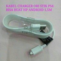 Kabel Charger Ori Stik PS4 - HP Android
