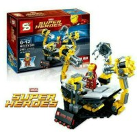 LEGO BRICK IRONMAN SUIT SET 242PCS