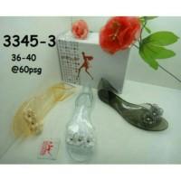 Jelly shoes slide flower sofiya
