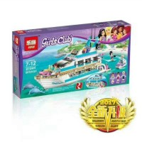 MAINAN BRICK LEGO LEPIN FRIENDS DOLPHIN CRUISER YACHT ISI 661 PCS