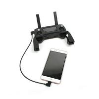 Kabel OTG micro usb android to remote dji spark/mavic