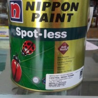 SPOTLESS 2.5 L BRILLIANT WHITE CAT INTERIOR NIPPON PAINT SPOT-LESS