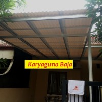 KANOPI BAJA RINGAN ATAP ALDERON RS - PHG CLUSTER SUMMARECON