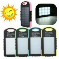 Jual POWERBANK SOLAR CELL + 20 LED LAMPU EMERGENCY Murah
