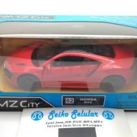 Miniatur Mobil Honda NSX Merah RMZ City Honda NSX Mainan Anak Laki