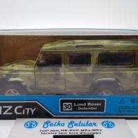 Miniatur Mobil Land Rover Defender RMZ City Land Rover Defender diecas