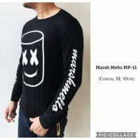baju kaos distro marshmello marsmello DJ Music pria cowok fashion