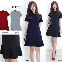 Fashion Wanita / Dress / Midi Dress D1112
