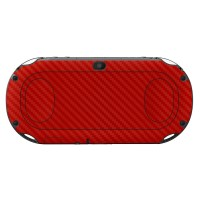 Skin Protector PS Vita Slim - 3M Red Carbon