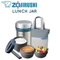 Jual Zojirushi Lunch Jar 3 Tier (3susun) - Stainless Murah