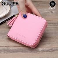 Jual Dompet Wanita Korea Import Mini Tassel Rumbai Wallet Fashion Cewek Murah