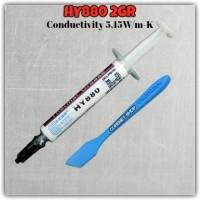 2gr 5.15W/m-K HY880 Thermal Grease Pasta Pendingin Chip Paste Prosesor