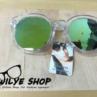 Kacamata Wanita Guccini Murah frame Bening Lensa Hijau