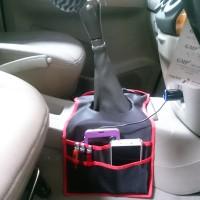 tas hp aksesoris mobil PocketCar Tas  mobil Kantong Tas Tuas Transmisi