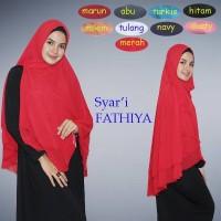 Khimar J1084 I Jilbab I Hijab I Pashmina I Jilbab Segi Empat I Bergo